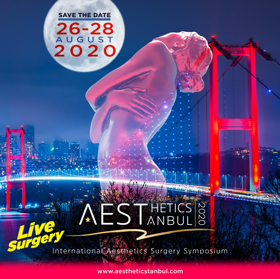 International Aesthetic Surgery Symposium-Aestheticstanbul 2020 afişi